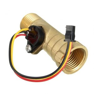 DC-5V-15mA-Brass-1-2-Inch-Thread-Hall-Effect-Water-Flow-Sensor-Switch-Flow-Meter