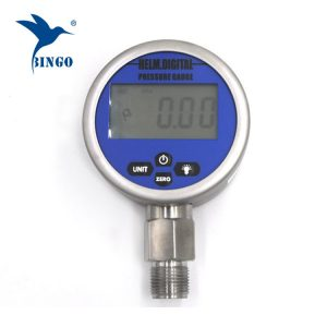 Inteligentni vakuumski digitalni merač pritiska, LCD, LED ekran, 100MPa mjerač