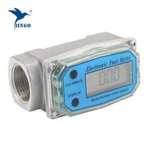 Merač protoka turbine za ulje, dizel ili benzin